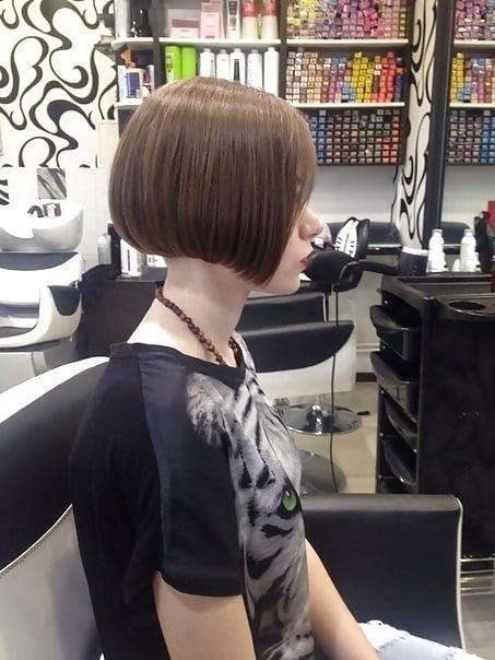 Short bob haircut black girl-2272