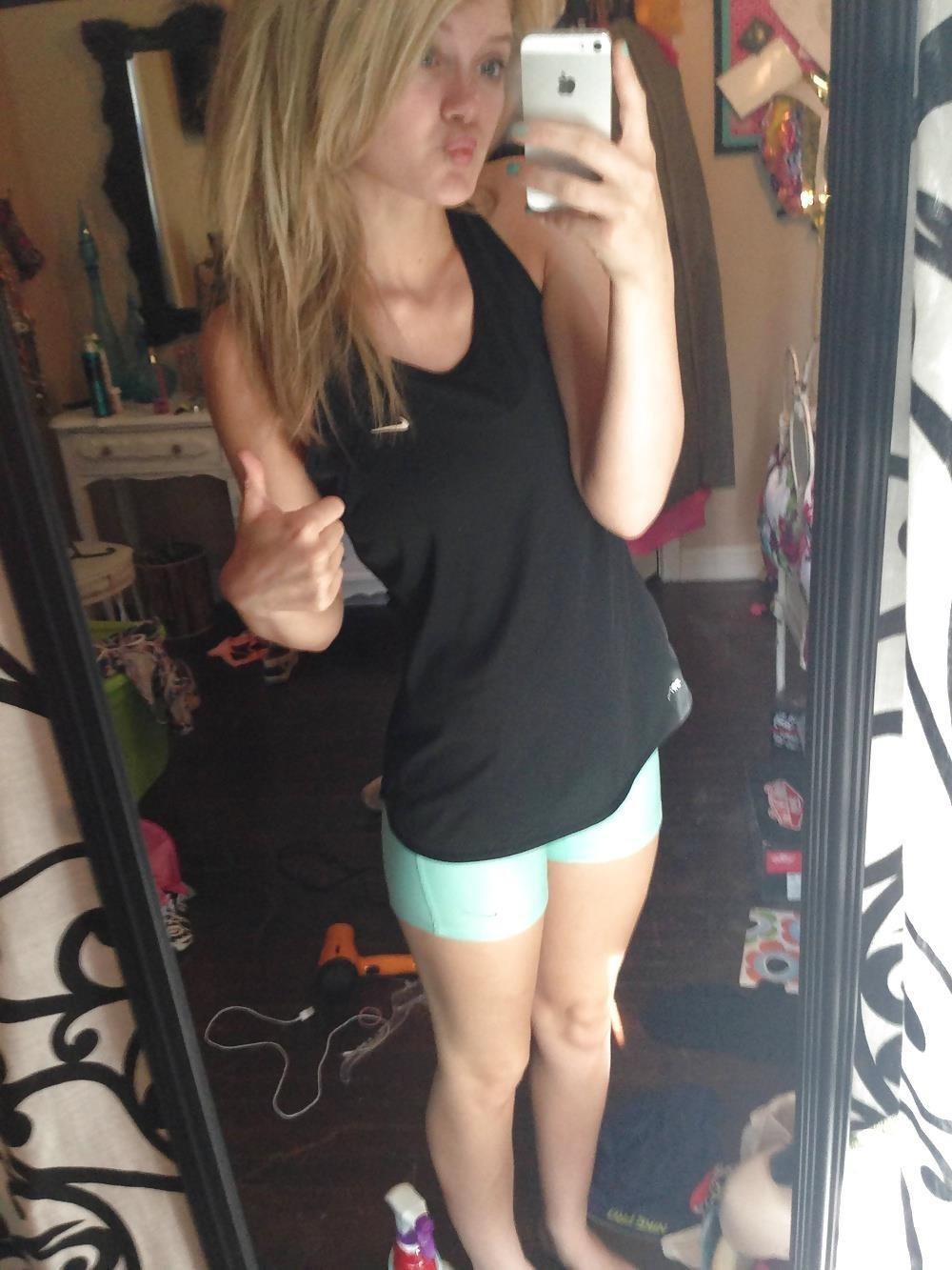 Busty teen nude selfie-4650