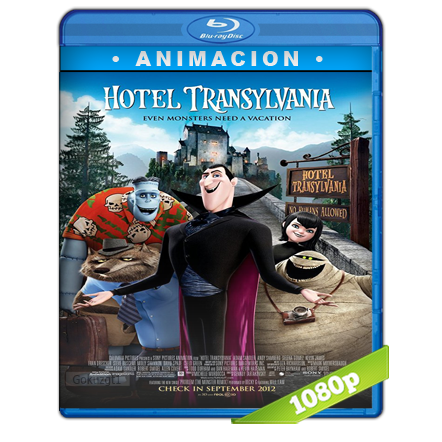 Hotel Transylvania Full HD1080p Audio Trial Latino-Castellano-Ingles 5.1 2012