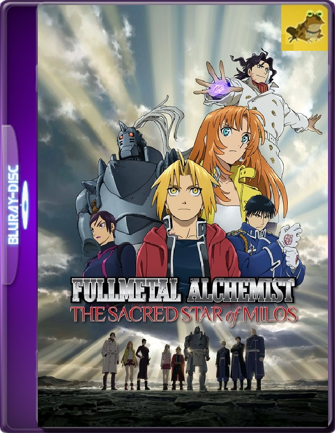 Fullmetal Alchemist: The Sacred Star Of Milos (2011) Brrip 1080p (60 FPS) Japonés Subtitulado