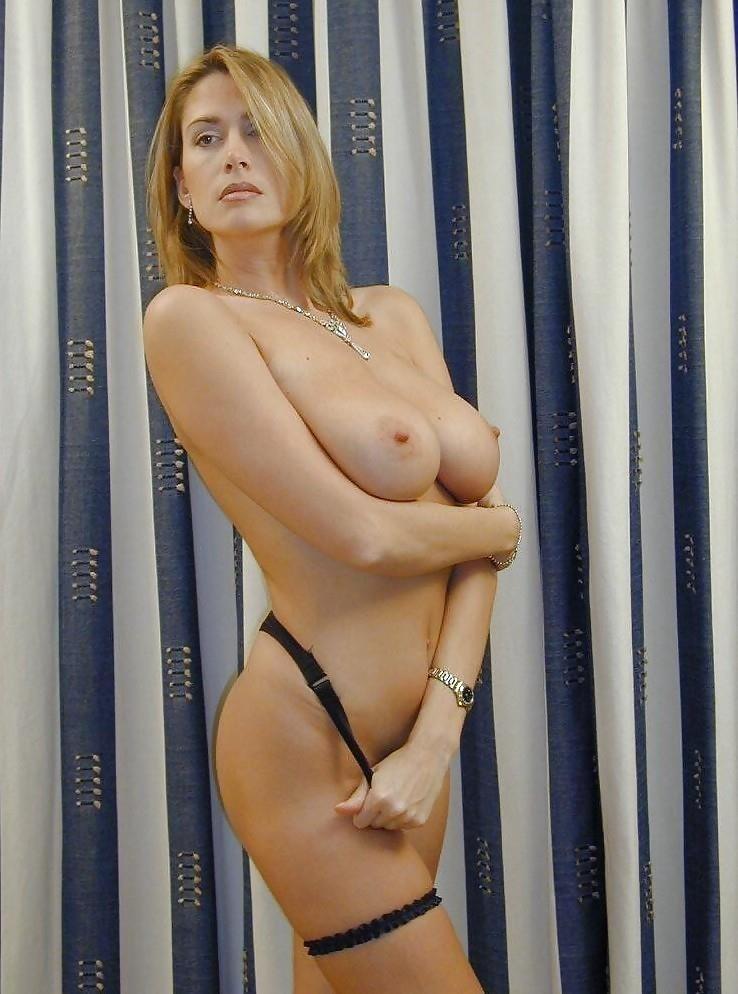 Mompov hot big tits blonde milf in first porn-8605