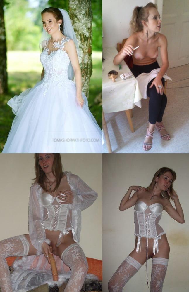 Wedding dress bukkake-4016