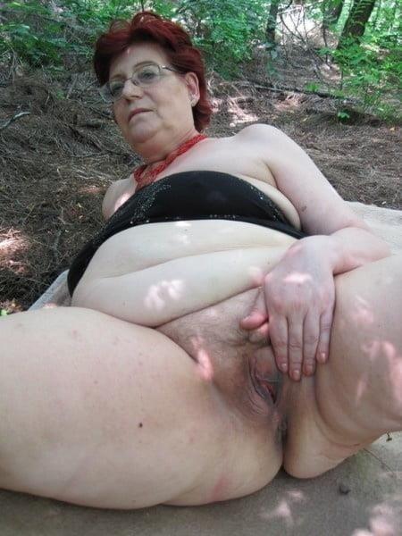 Chubby granny boobs-3323