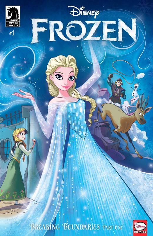 Frozen - Breaking Boundaries #1-3 (2018) Complete