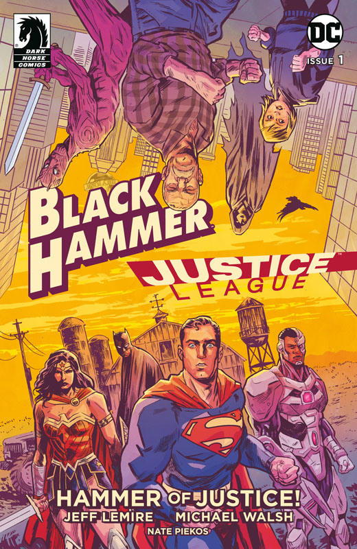 Black Hammer - Justice League - Hammer of Justice! #1-5 (2019)