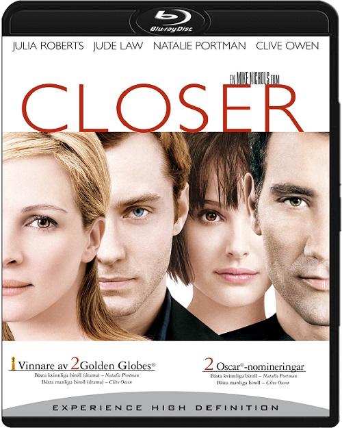 Bliżej / Closer (2004) MULTi.720p.BluRay.x264.AC3-DENDA / LEKTOR i NAPISY PL