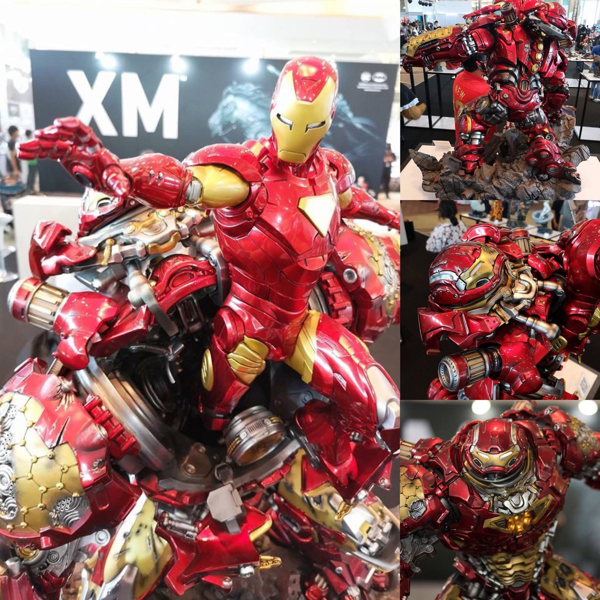 Avengers : Age of Ultron - HulkBuster Premium Collective 1/4 Statue (Hot Toys) NKEWXHCz_o