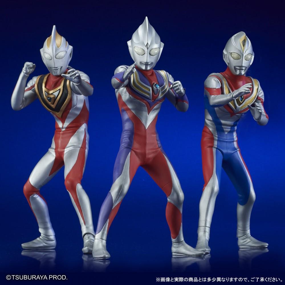 Ultraman - Ultra New Generation TDG (Tiga/Dyna/Gaia) Set (Tsuburaya Prod) U1Q6KLFa_o