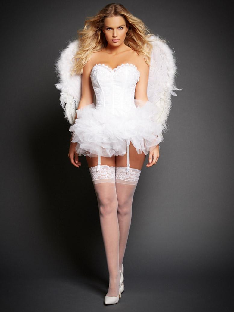 фотомодель Rachel Mortenson / коллекция нижнего белья и одежды Frederick's of Hollywood Role Play