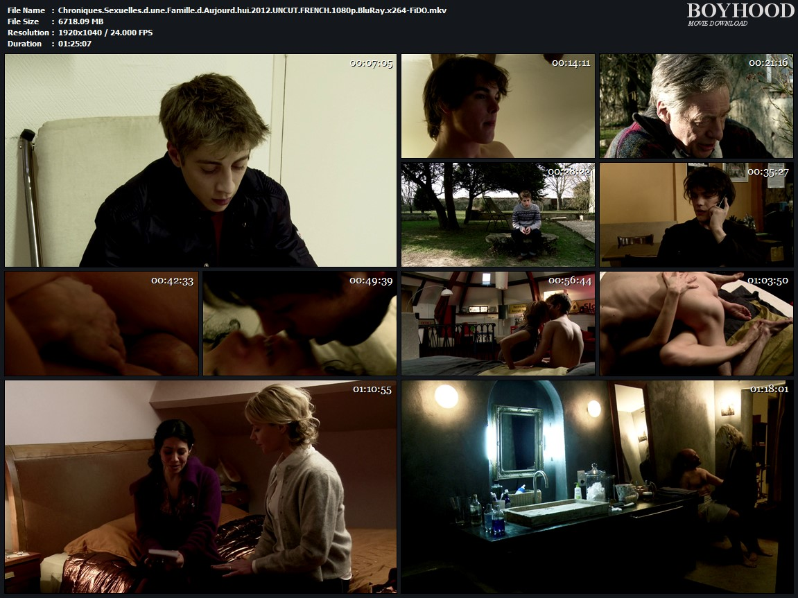 Sexual Chronicles of a French Family 2012 UNCUT