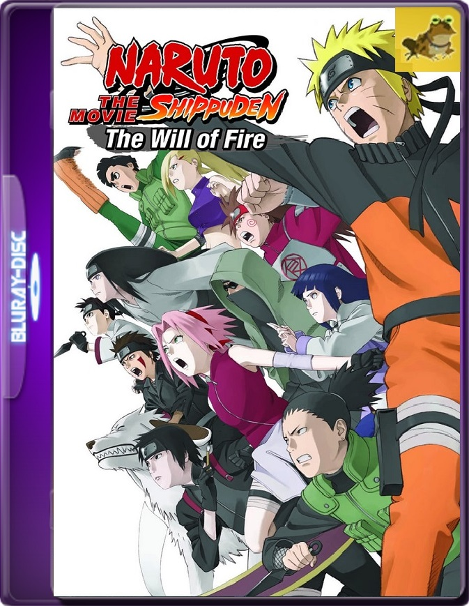 Naruto Shippuden Movie 3: Inheritors Of Will Of Fire (2009) Brrip 1080p (60 FPS) Japonés Subtitulado