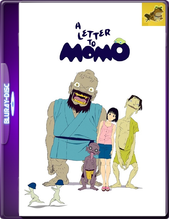 Una Carta Para Momo (2011) Brrip 1080p (60 FPS) Latino / Japonés