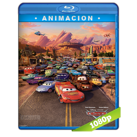 Cars 1 (2006) BRRip Full 1080p Audio Trial Latino-Castellano-Ingles 5.1