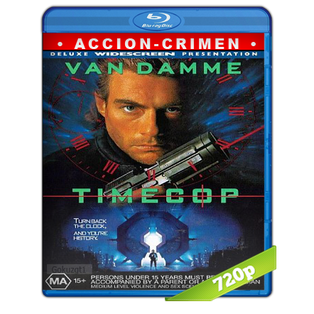 Timecop Policia Del Futuro (1994) BRRip 720p Audio Trial Latino-Castellano-Ingles 5.1