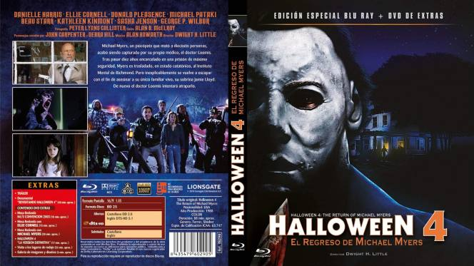 Halloween 4 (1988) BRRip 720p Audio Trial Latino-Castellano-Ingles