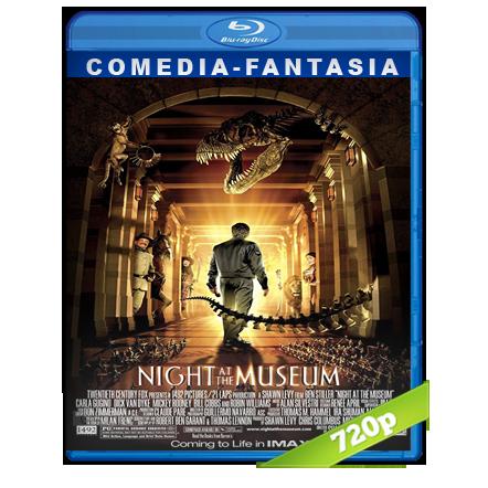 Una Noche En El Museo 1 720p Lat-Cast-Ing 5.1 (2006)