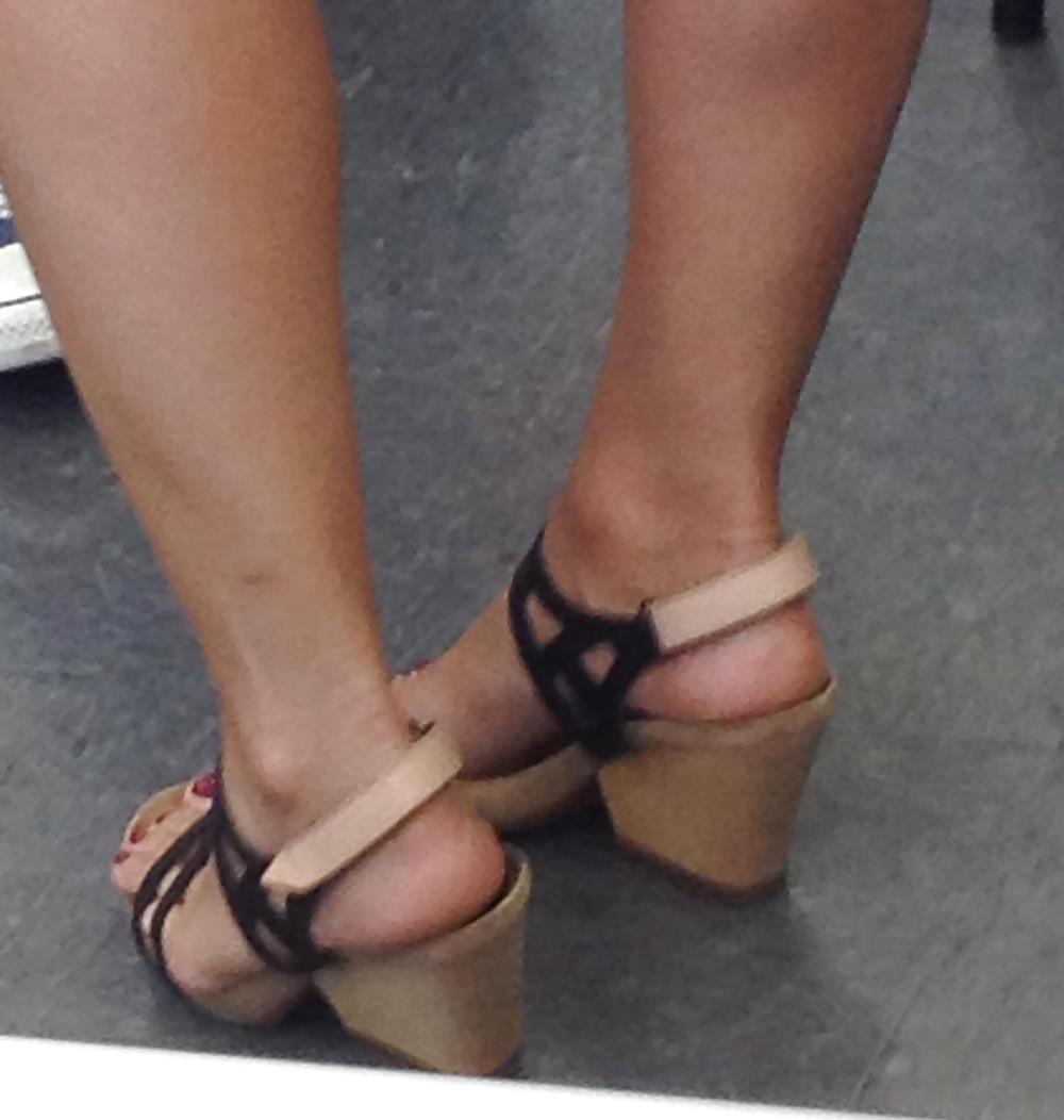 Long toes foot fetish-8226