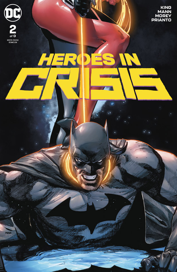 Heroes in Crisis #1-9 (2018-2019) Complete