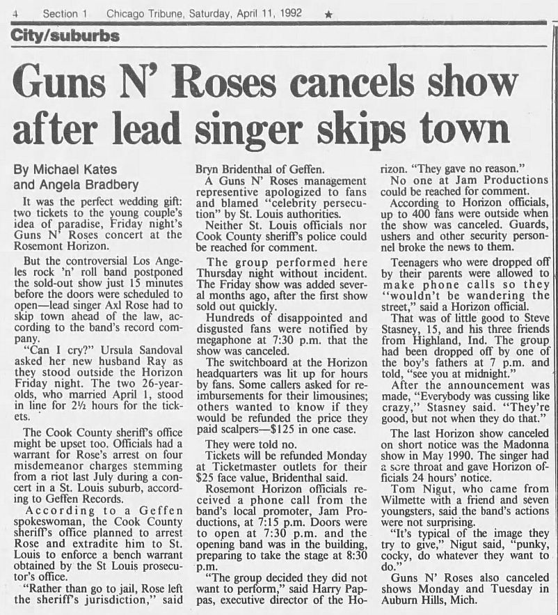 1992.04.11/16 - Chicago Tribune/AP/The St. Louis Post Dispatch - Reports (Axl) GeU0OqEL_o
