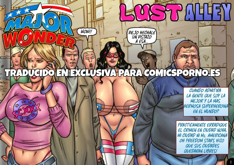 Major Wonder- Lust Alley – Superheroine (Español)