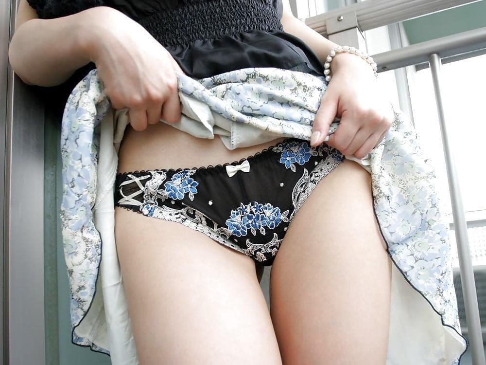 Japanese panty masturbation-5638