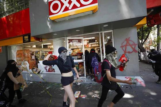 Мексиканская сеть магазинов Oxxo