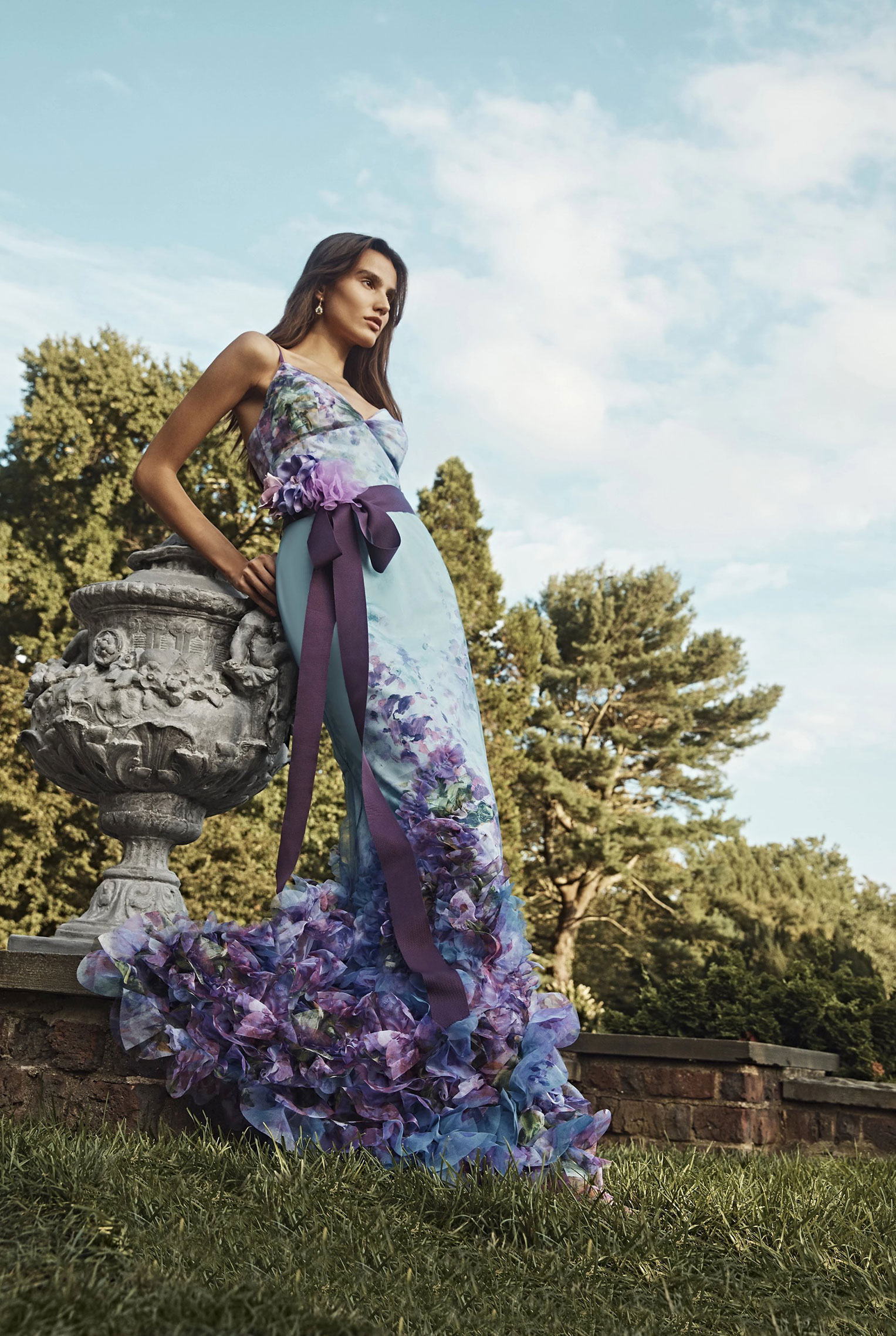 Коллекция модной одежды Marchesa, сезон весна-лето 2020 / фото 09