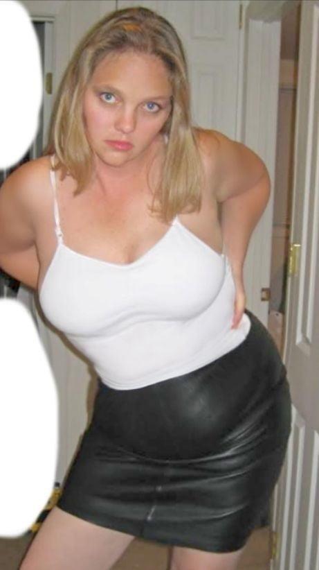 Tu leather skirt-2451