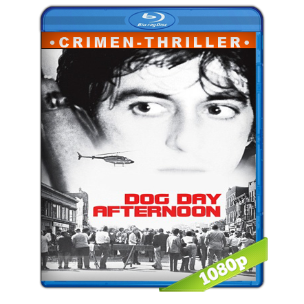 Tarde De Perros [1975][BD-Rip][1080p][Trial Lat-Cas-Ing][Crimen]