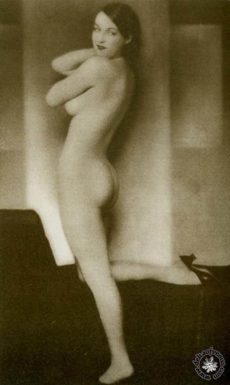 Vintage hairy nude-1540