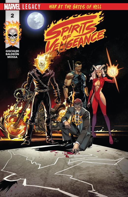 Spirits of Vengeance #1-5 (2017-2018) Complete