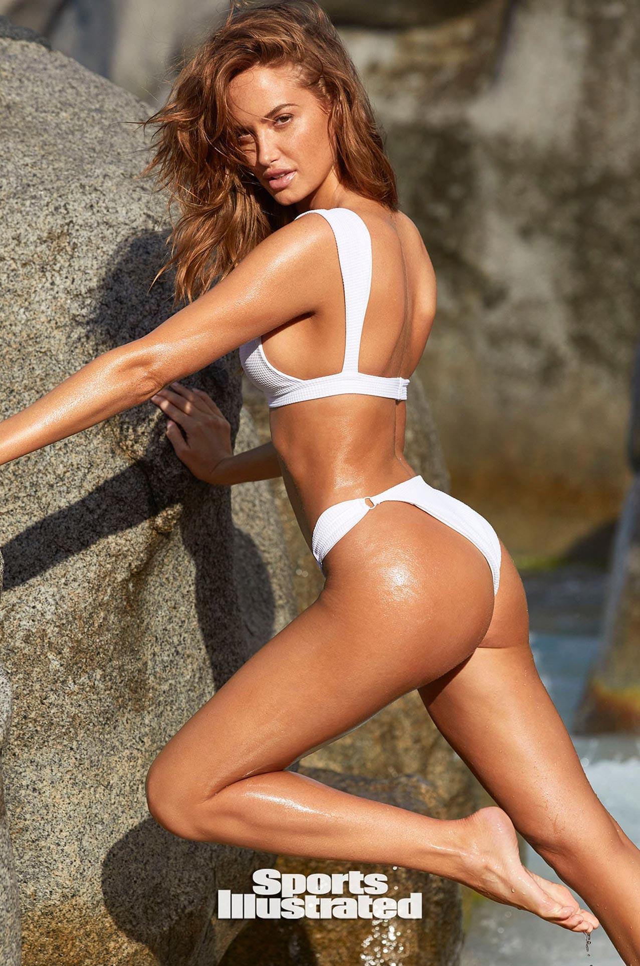 Хейли Калил в каталоге купальников Sports Illustrated Swimsuit 2020 / фото 03
