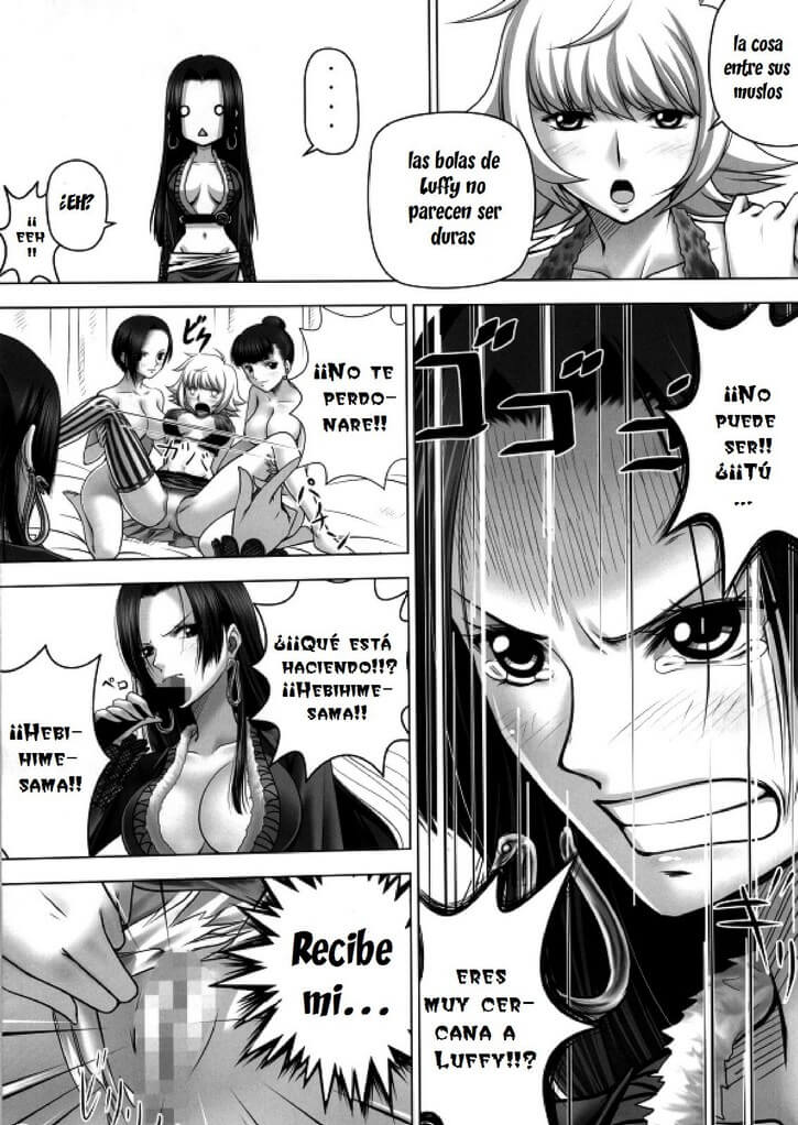Hancock hentai manga
