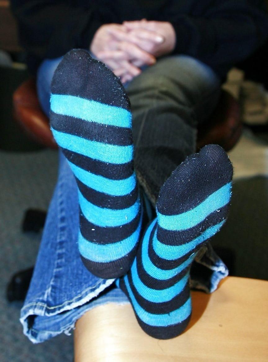 Mature foot tube-4923