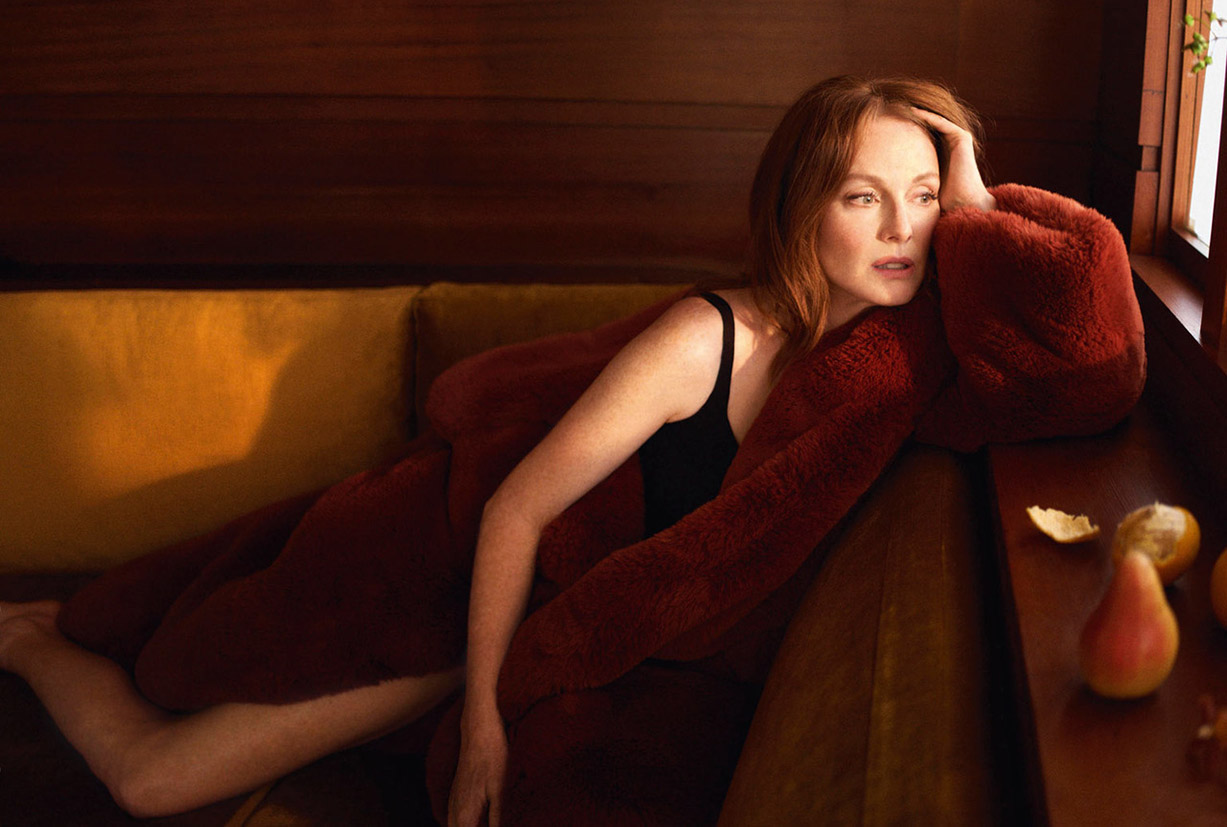 Julianne Moore by Camilla Akrans / Porter Magazine winter 2018