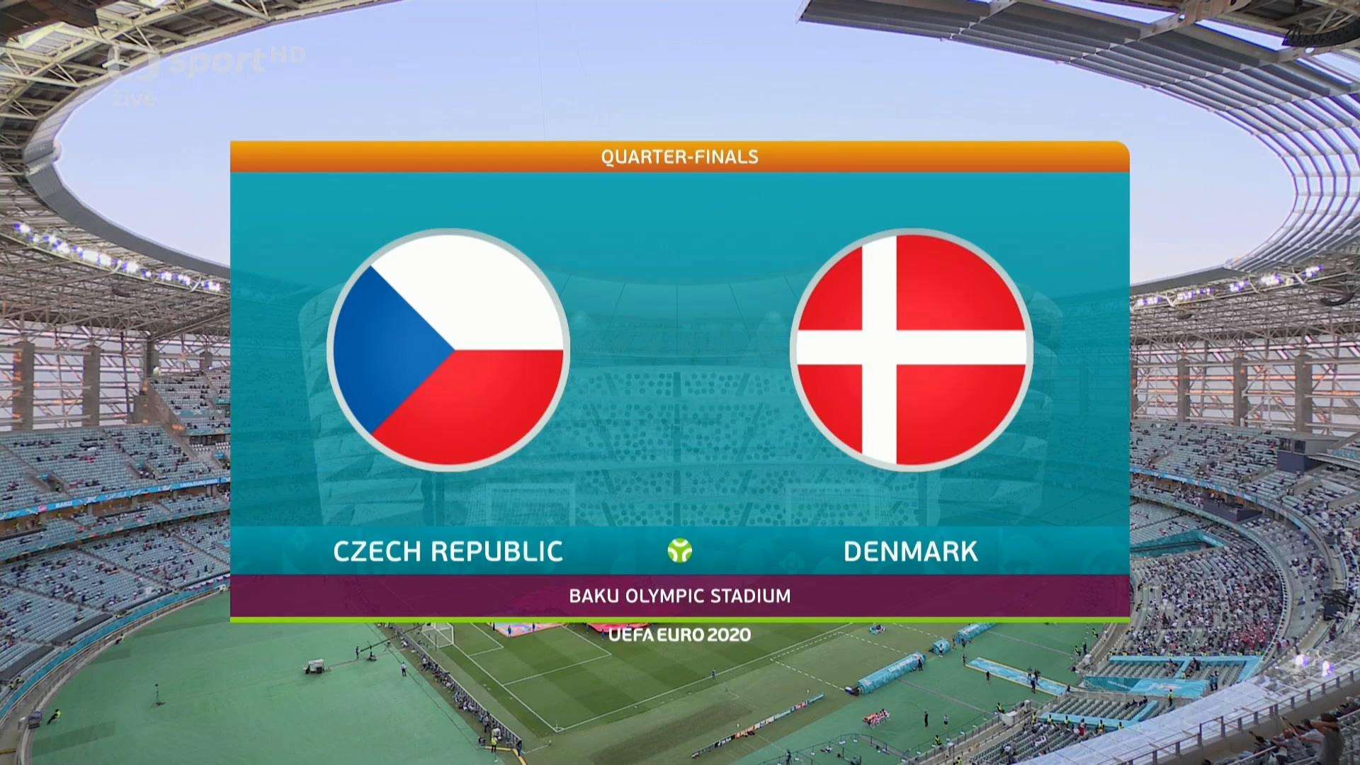 Full match: Czech Republic vs Denmark