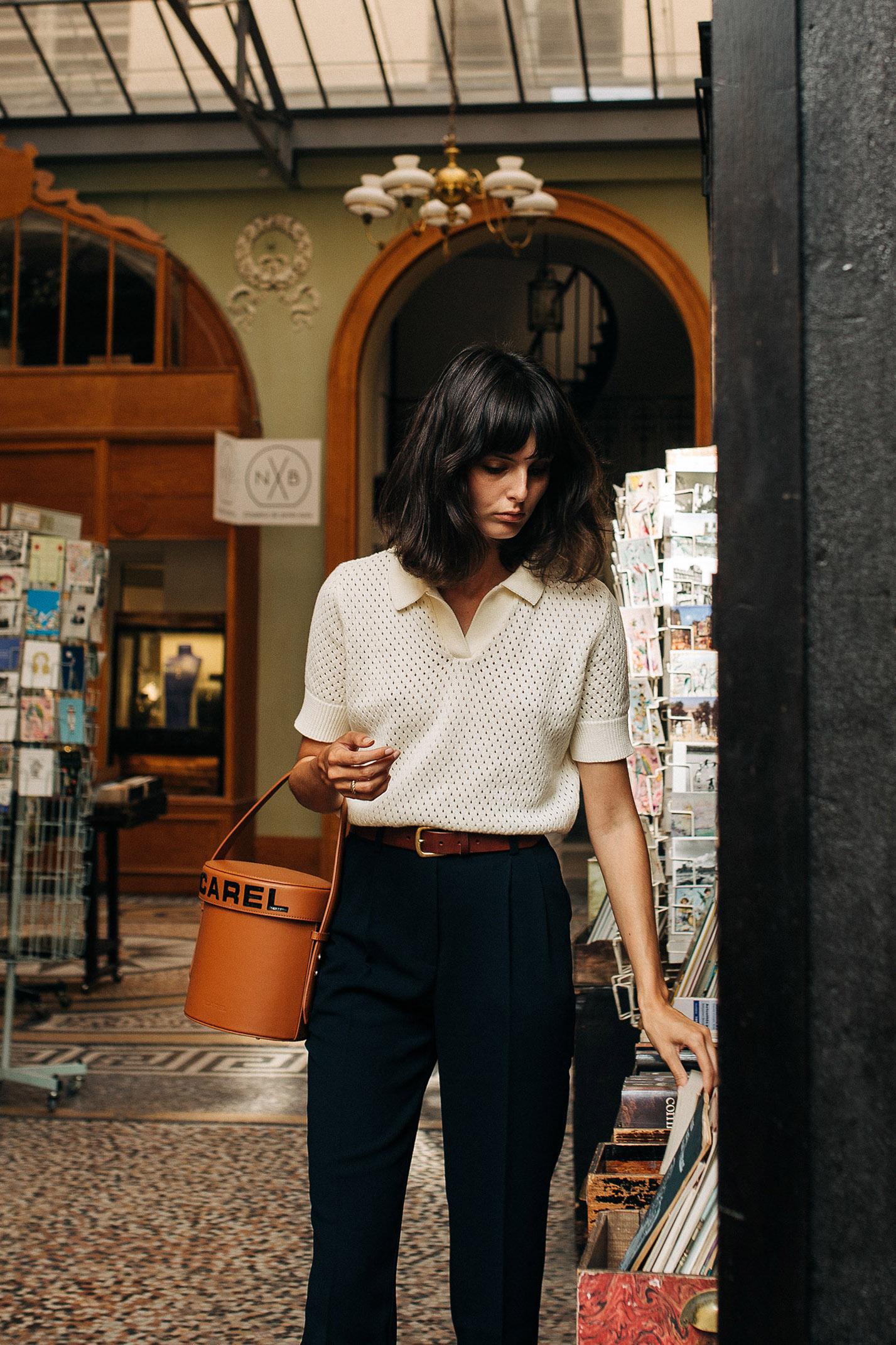 прогулка по парижской торговой галерее с Жустин Соранзо / фото 02