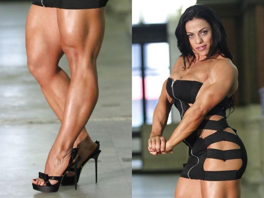 Bodybuilder female clit-5329