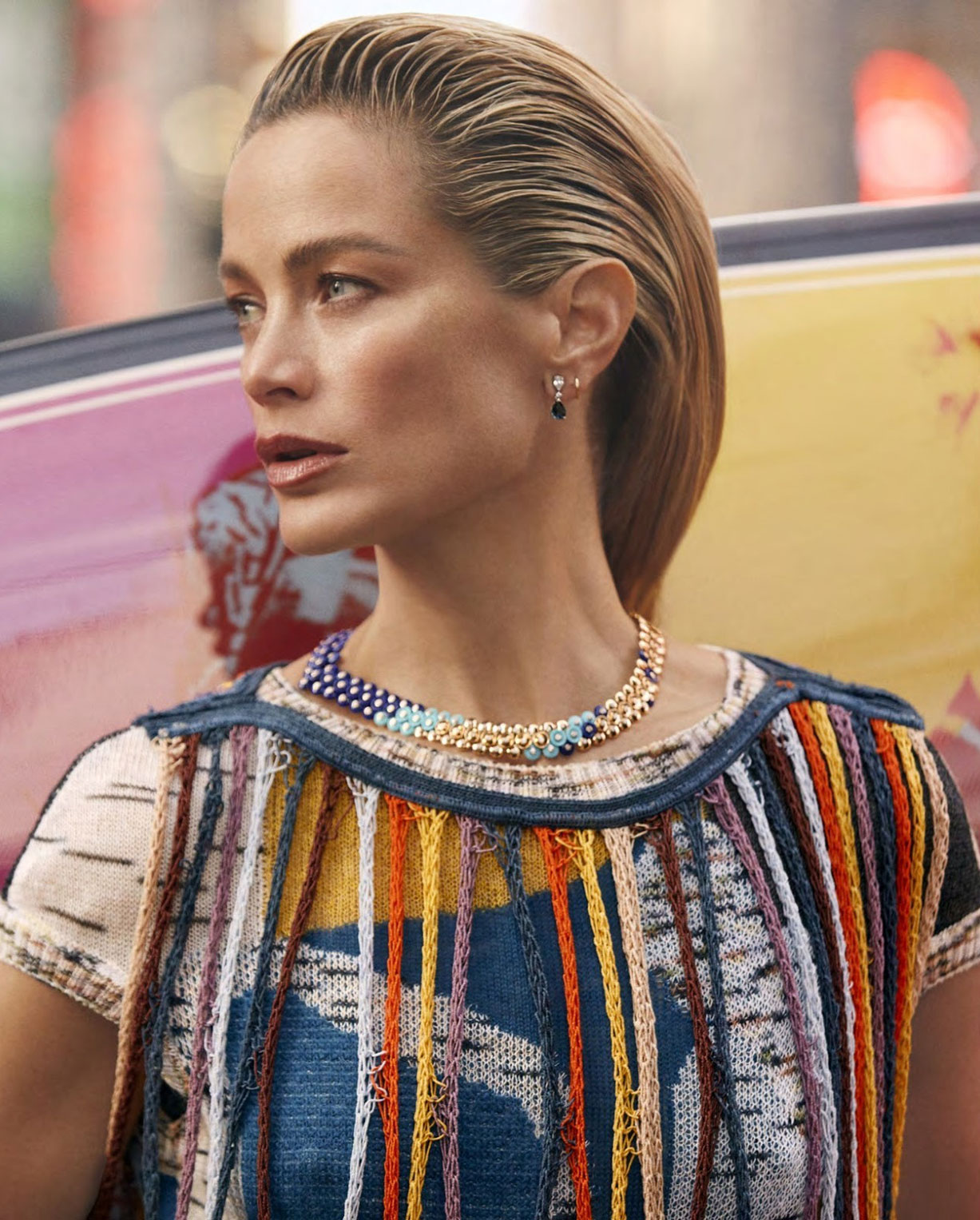 Surf City / Carolyn Murphy by Zoey Grossman / Harpers Bazaar US march 2019