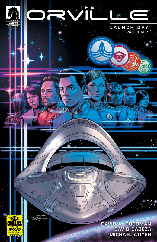The Orville #1-4 (2020)