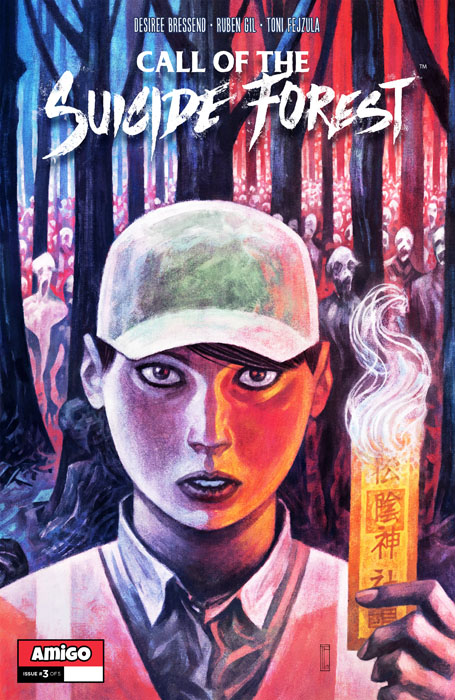 Call of The Suicide Forest #1-5 + Tales from The Suicide Forest (2016-2018) Complete
