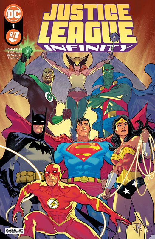 Justice League Infinity 01-03 (2021)