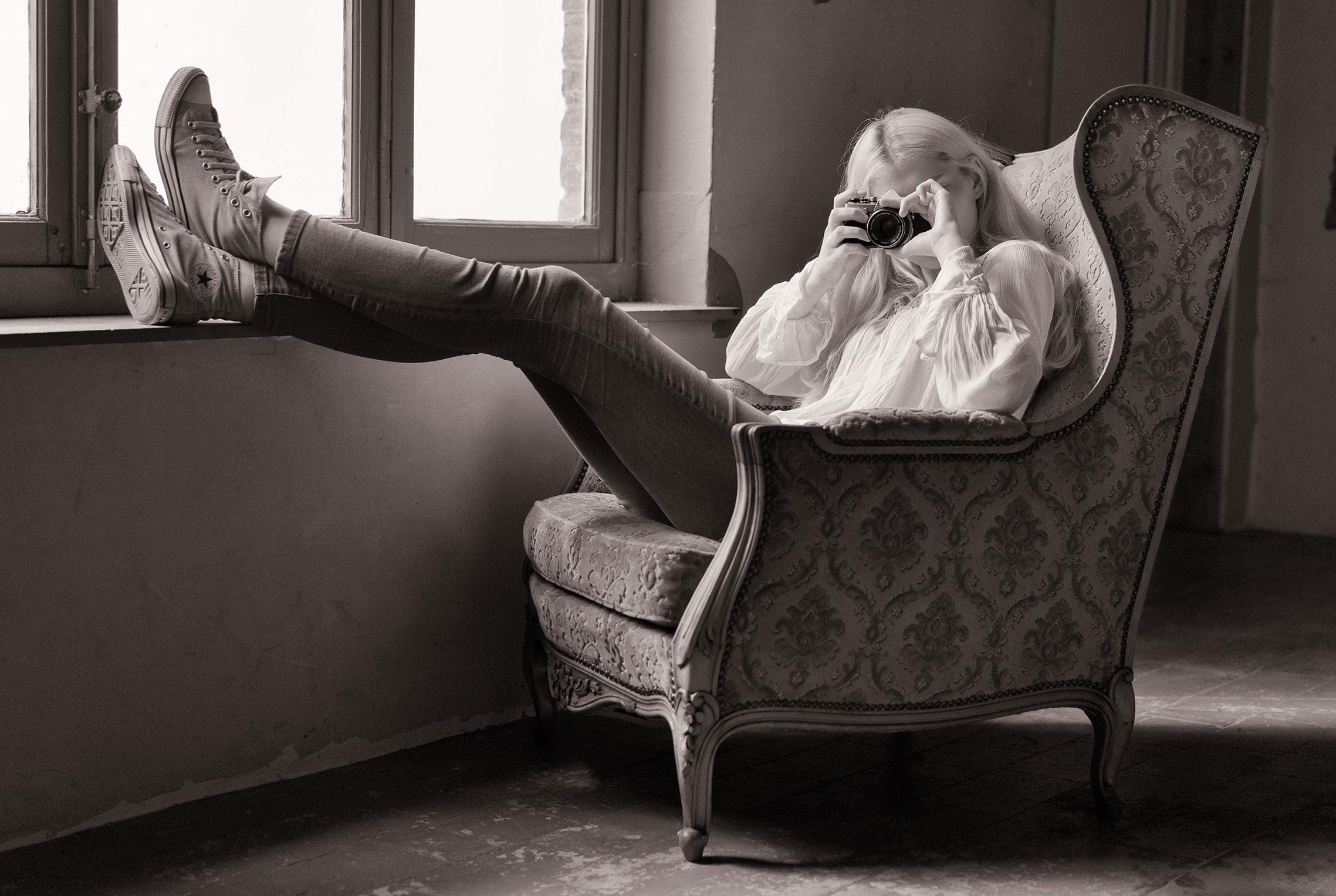 Даша, фотограф Marc Alhadeff