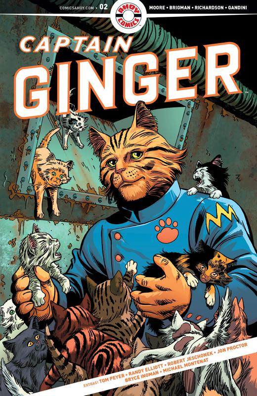 Captain Ginger #1-4 (2018-2019) Complete