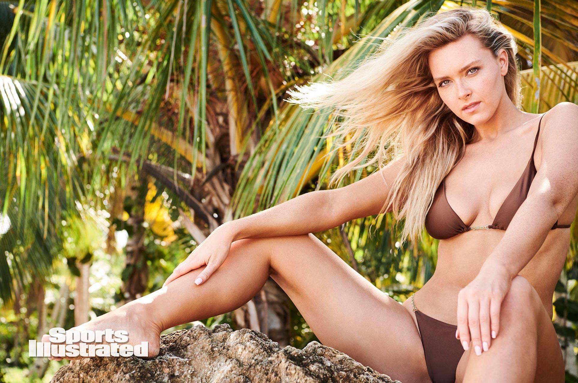 Камилла Костек в каталоге купальников Sports Illustrated Swimsuit 2020 / фото 08