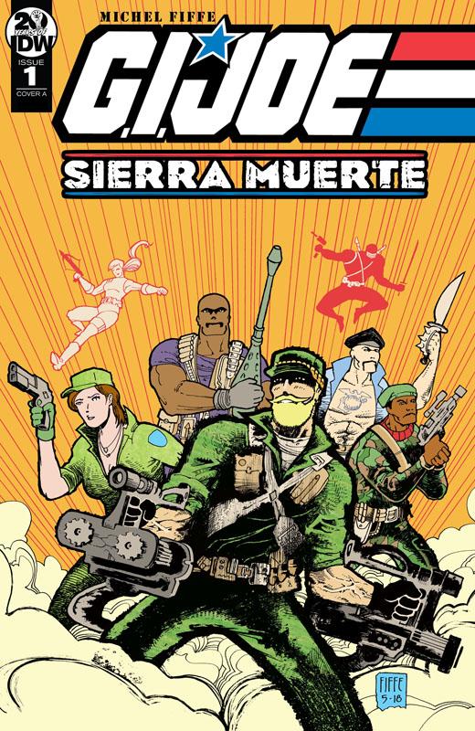 G.I. Joe - Sierra Muerte #1-3 (2019) Complete