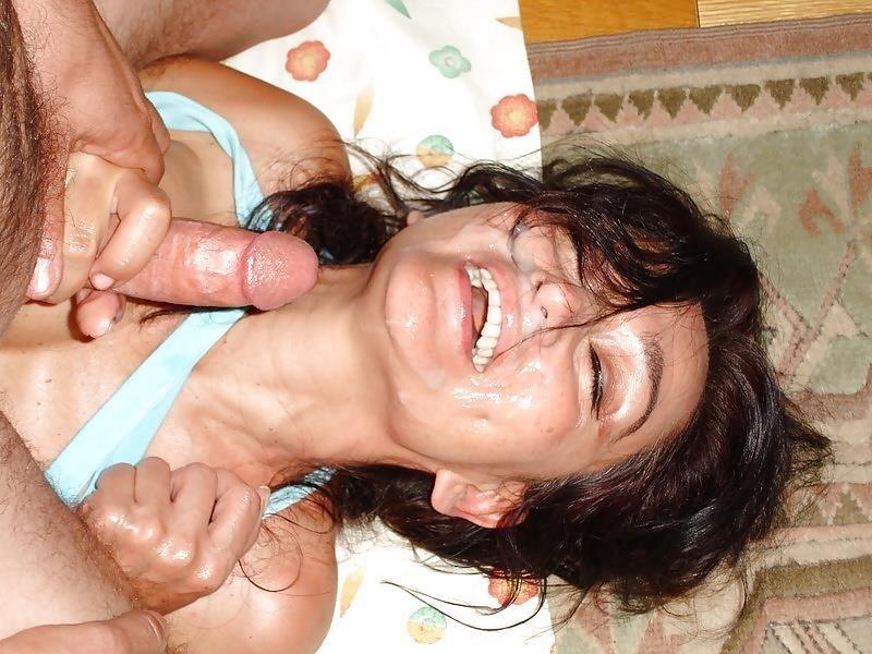 Wife in bukkake-3920