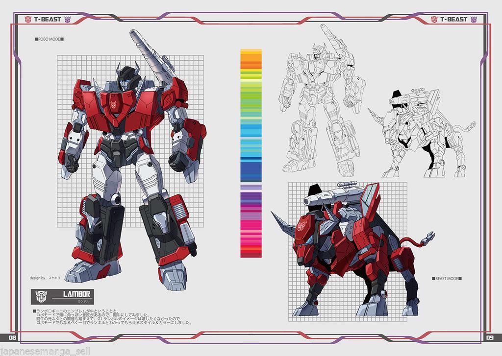 Produit Tiers - Design T-Beast - Basé sur Beast Wars - par Generation Toy, DX9 Toys, TT Hongli, Transform Element, etc Z0C4mOVq_o