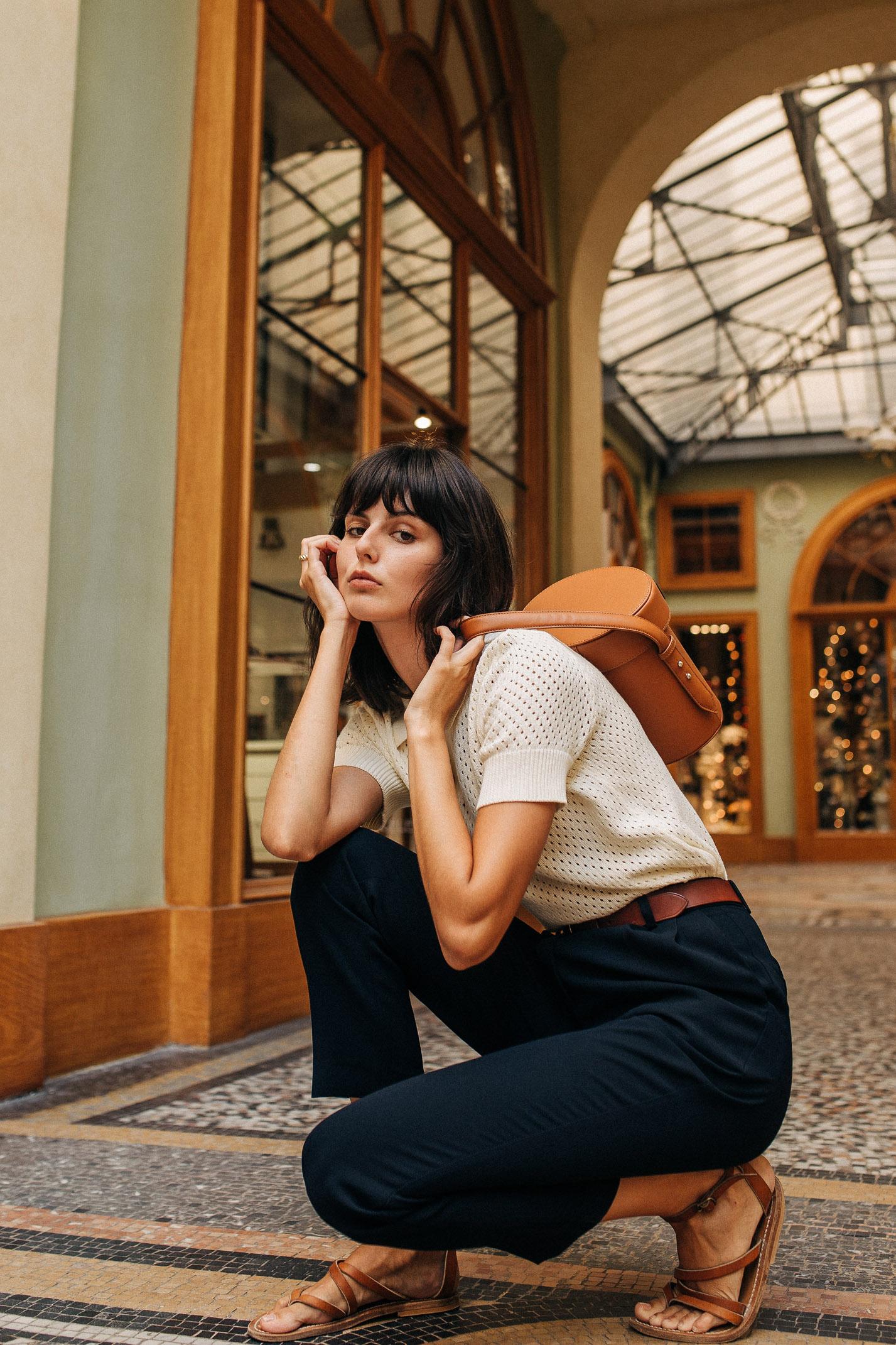 прогулка по парижской торговой галерее с Жустин Соранзо / фото 08