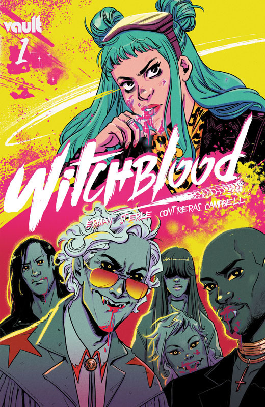Witchblood 001 (2021)